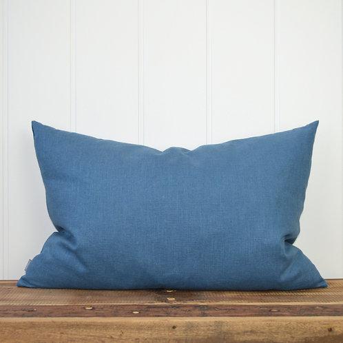 10014 - Washed linen - denim blue
