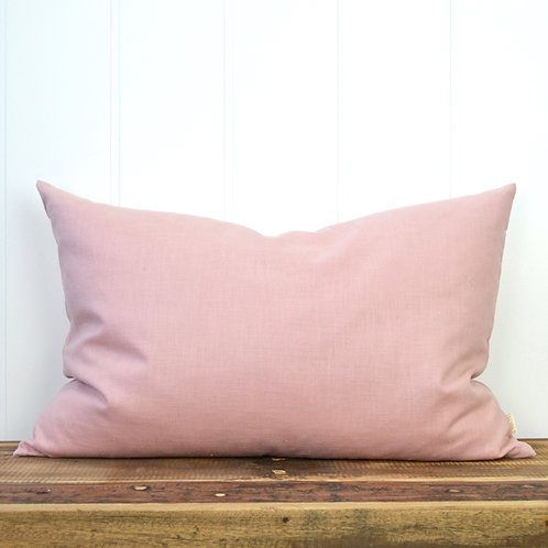 Washed linen - dusty rose