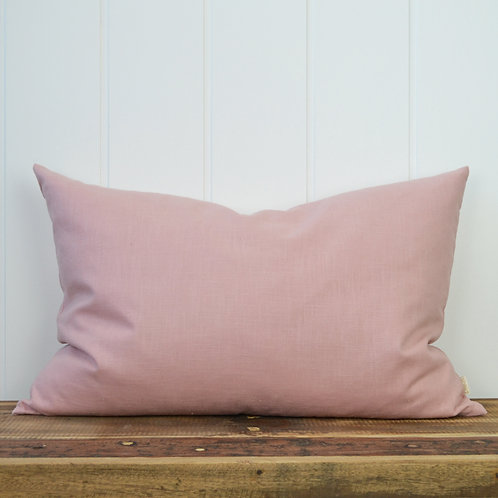 10021 - Washed linen - dusty rose