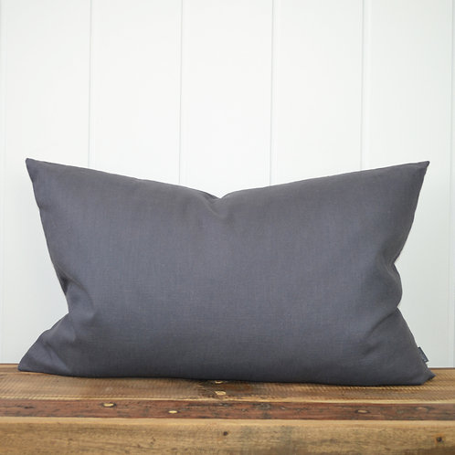 10016 - Washed linen - charcoal