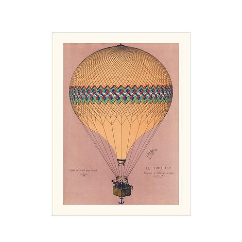 Air balloon rosa
