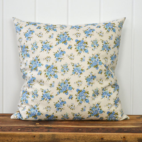 Flower bouquets - blue/offwhite