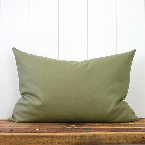 Washed linen - green