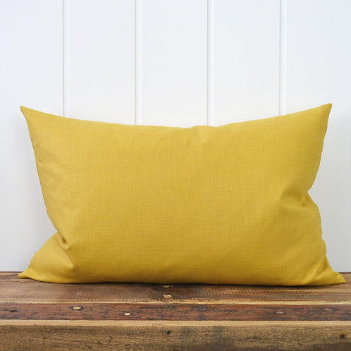 Washed linen - mustard