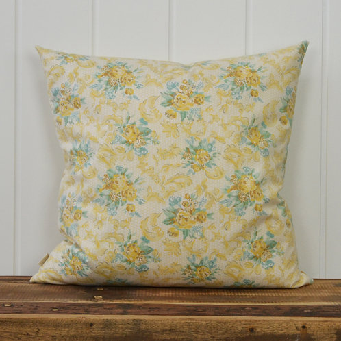 12081 Flower bouquets - yellow/teal