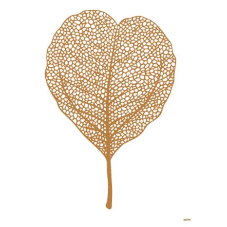 Golden leaf white