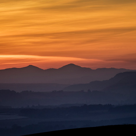 Perthshire sunset
