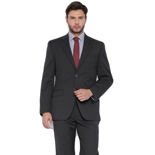 Raymond Charcoal Grey Pinstripe Suit