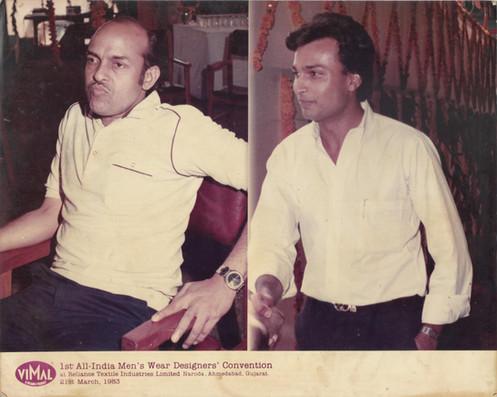 CP Kandoi with Anil Ambani