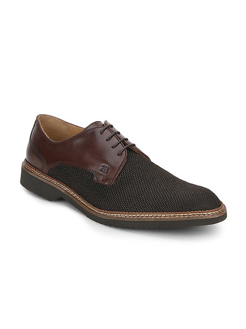 Raymond Casual Tan Derby Shoes