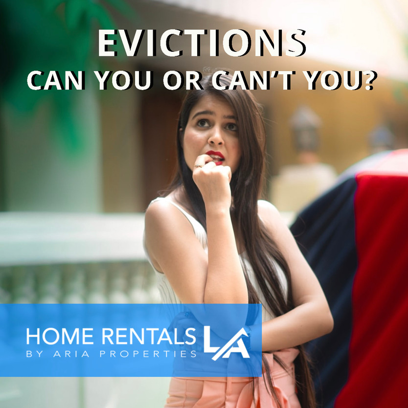 Evictions: Can You or Can't You?