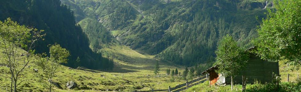 Berge und Natur