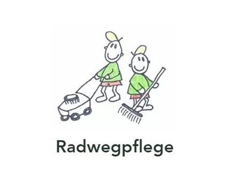 Radwegpflege