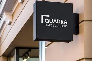 Quadra Platos de Ducha comprar mamparas griferias Castellon