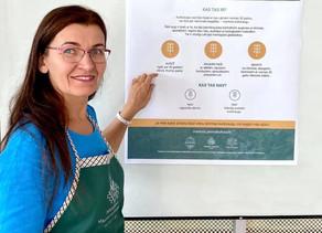 Mantotie kultūraugi Bulduru Dārzkopības vidusskolā 2020. gada 10. septembrī