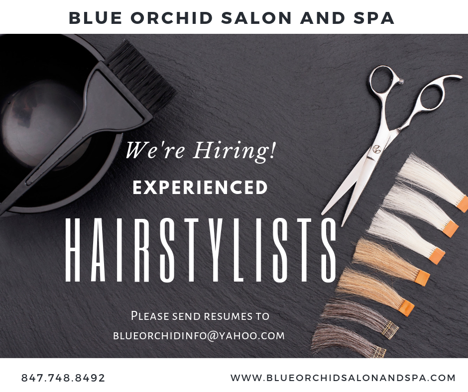 Hiring Hairstylists Ad