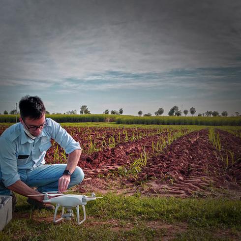 drone caña de azúcar paraguay digital prisma tecnología