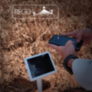 Sensor agrícola para riego en soja y maíz