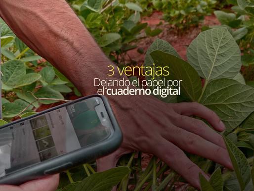 3 ventajas del cuaderno de campo #digital