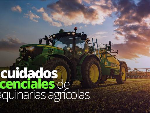 8 cuidados esenciales de maquinarias agrícolas