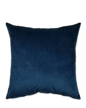 Dark Blue Velvet Pillow Square