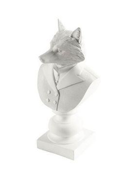 White Suited Fox Statue (Murray)