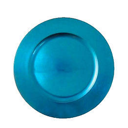 Light Blue Resin Charger Plate