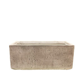 White Outdoor Textured Planter