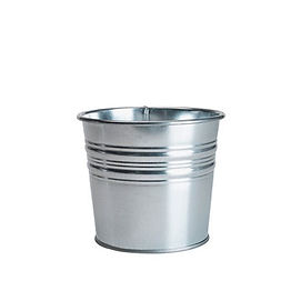 Troy Galvanized Plant Pot