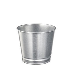 Galvanized Plant Pot