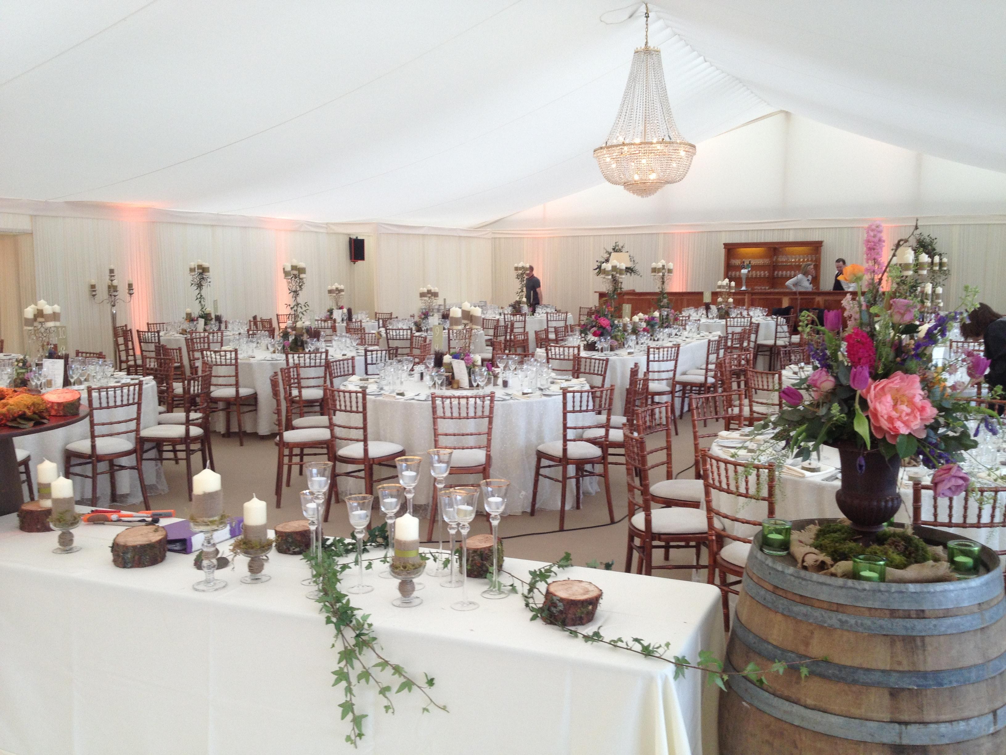 Stylish Wedding Marquee