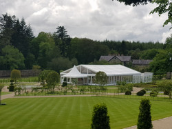 Luxury Hire Marquee Ballynahinch Castle