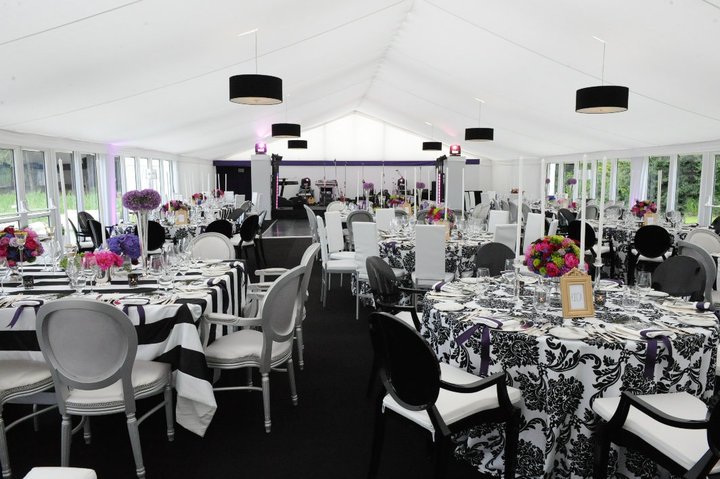 Marquee at Ashford Castle