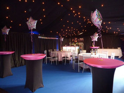 18th Birthday Party Marquee
