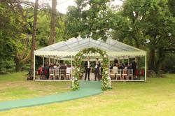 Wedding Ceremony Marquee