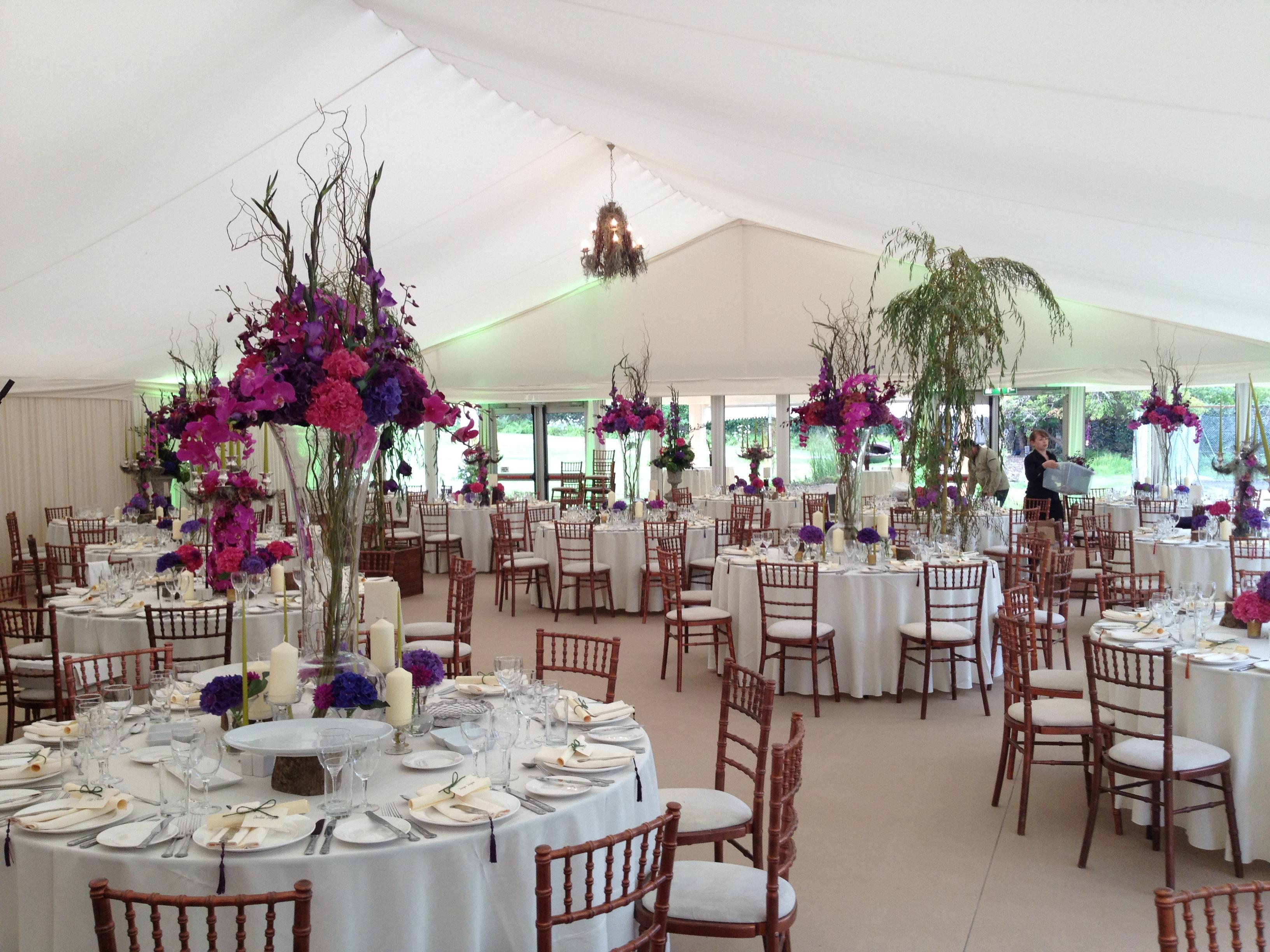 Ballynahinch Castle Wedding Marquee
