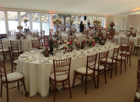 'Lough of Love' Wicklow Marquee Hire