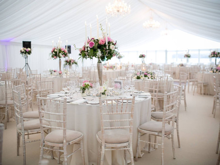 A Diamond Wedding Marquee !