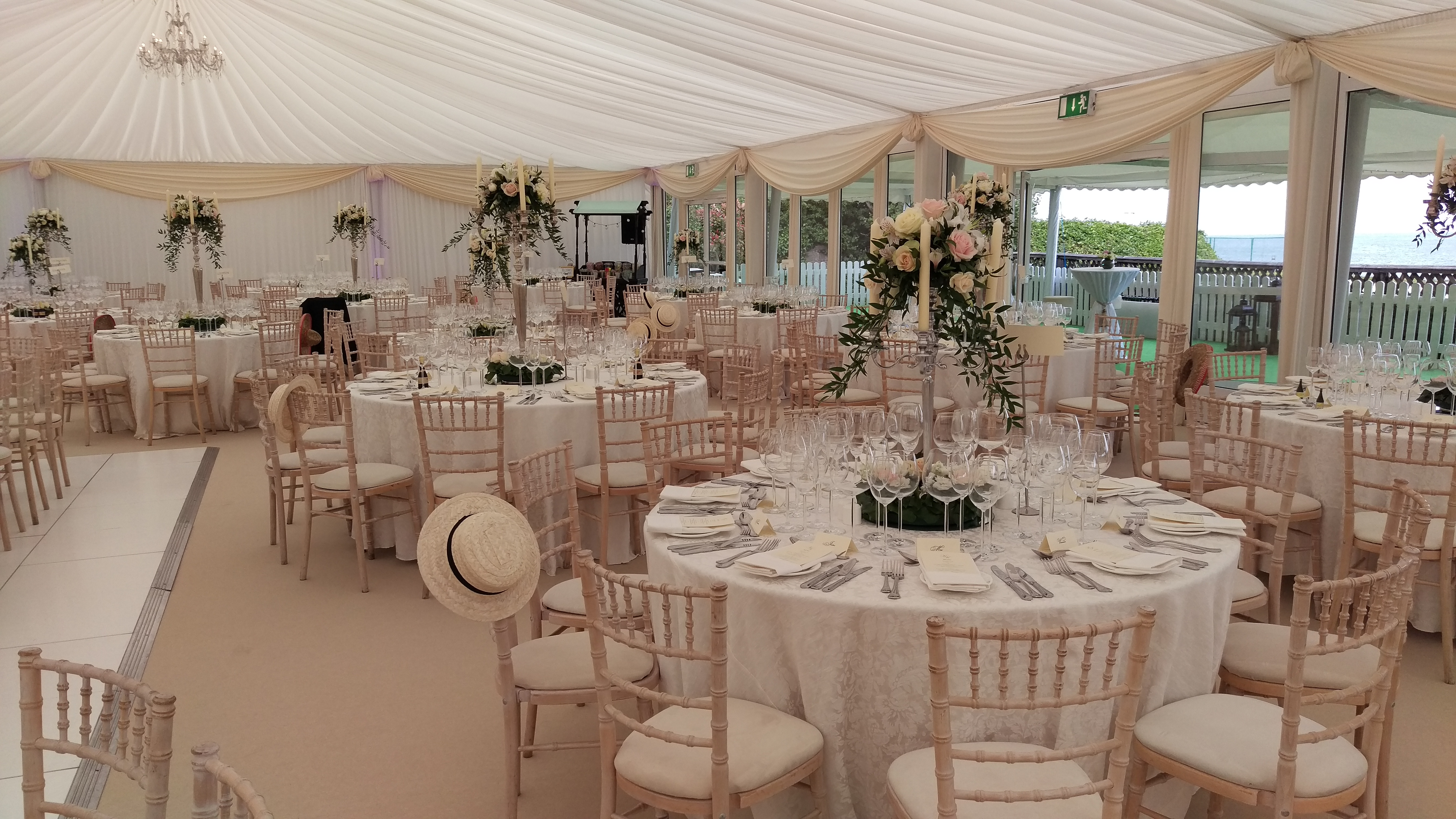 Romantic Wedding Marquee