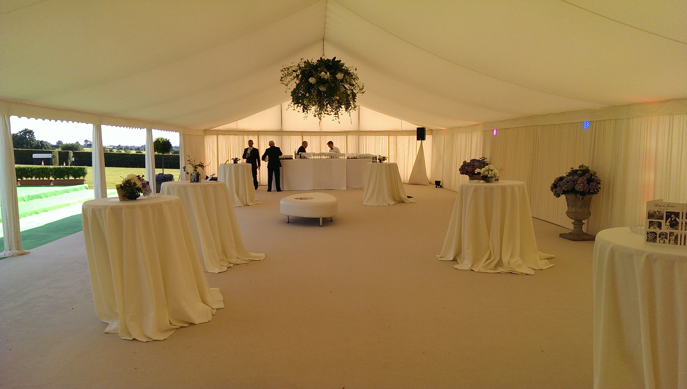 Drinks Reception Marquee