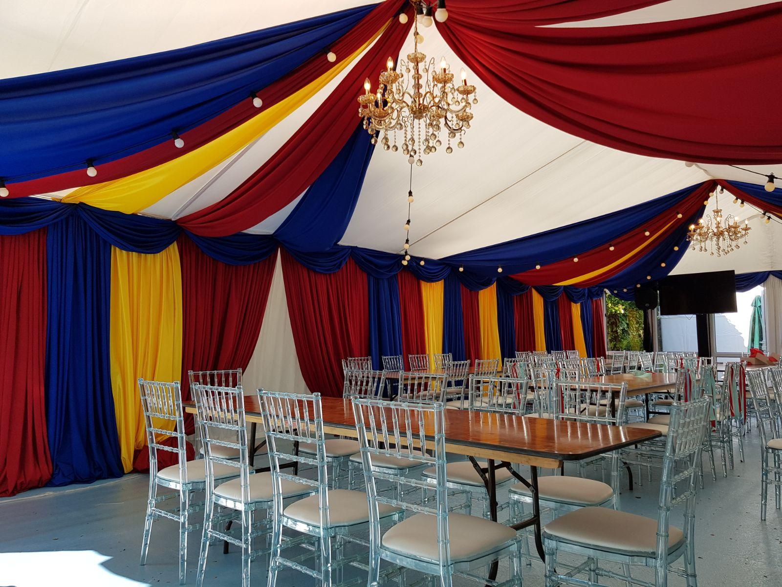 Themed Marquee Party