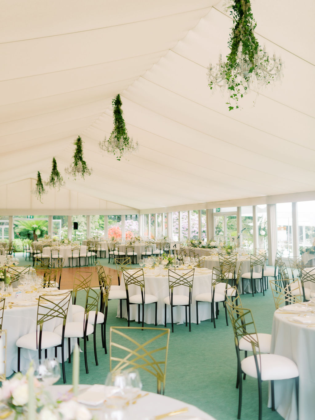 Bespoke luxury marquee
