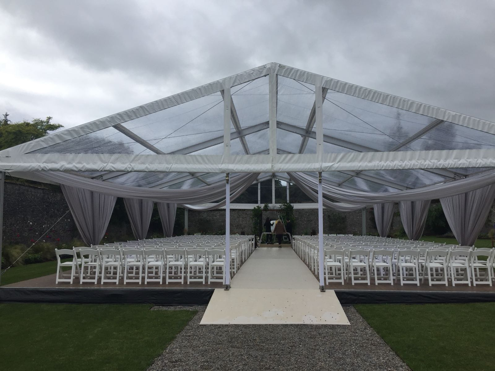 Adare Manor Marquee by Pavilion