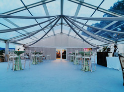 Clear Marquee Hire luxury drapes