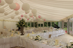 Paper Lanterns Wedding Marquee