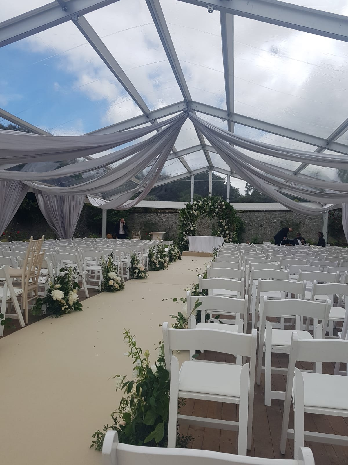 Open Wedding Marquee