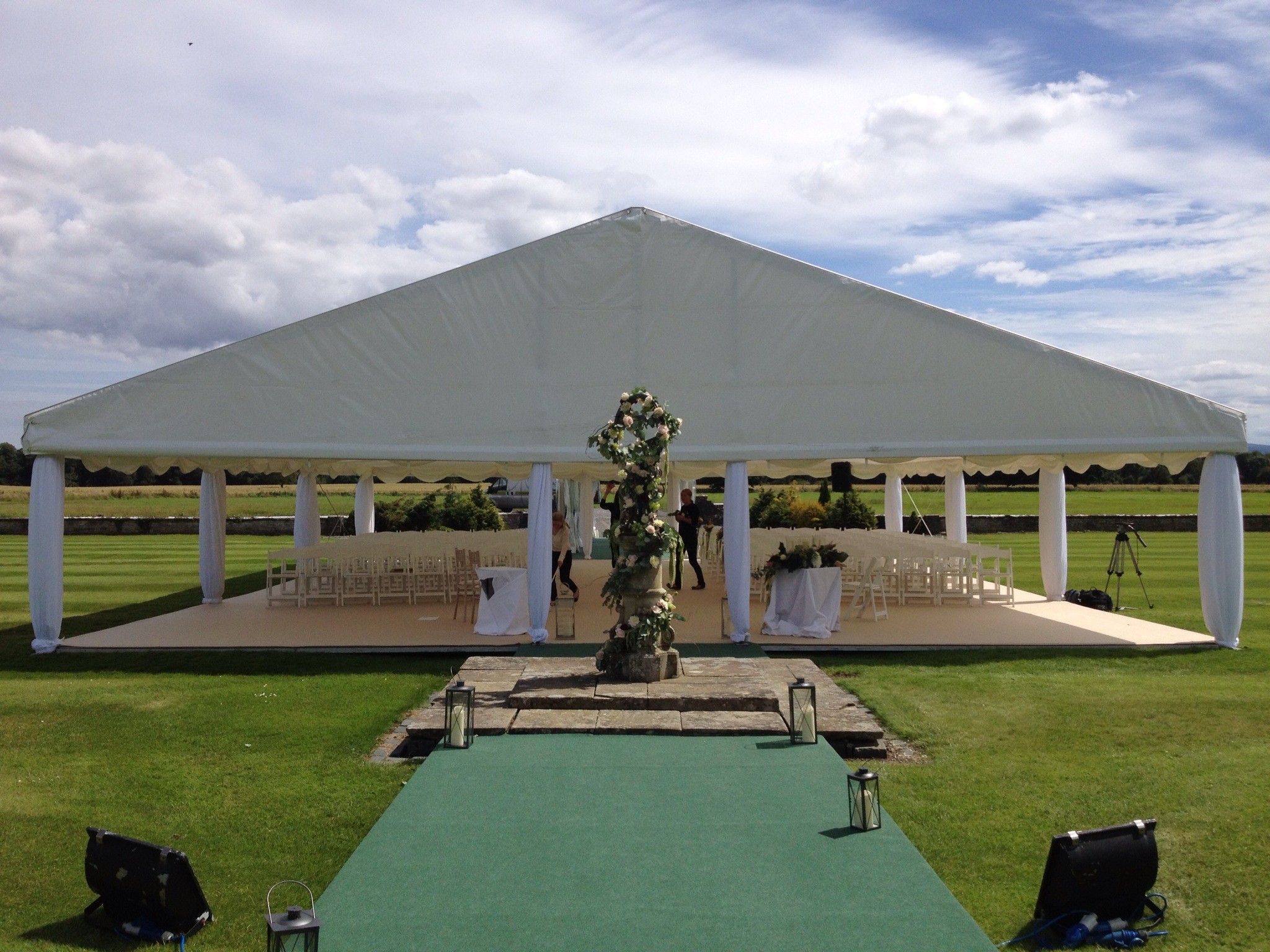 Wedding Ceremony Marquee