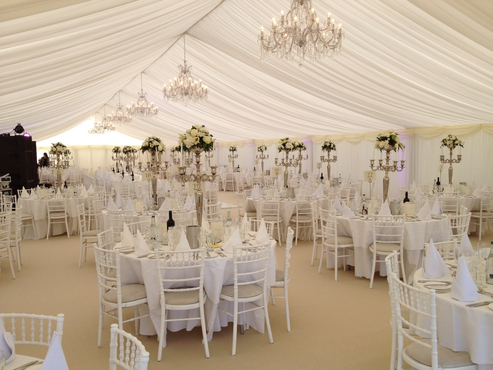White Wedding Marquee