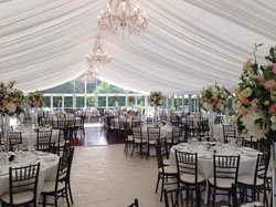 Classically Elegant Marquee Hire