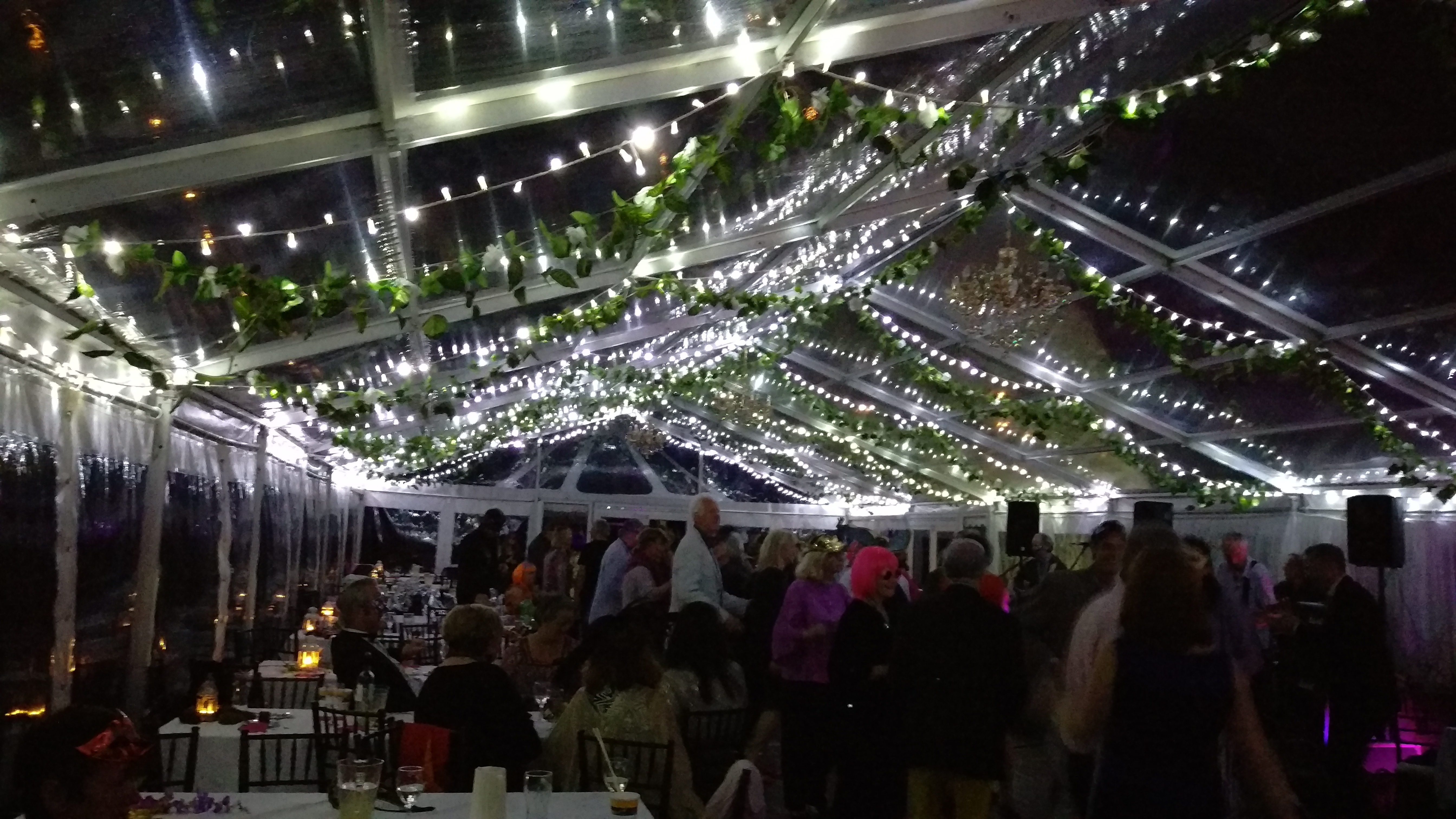 Fairy Lights Marquee Hire